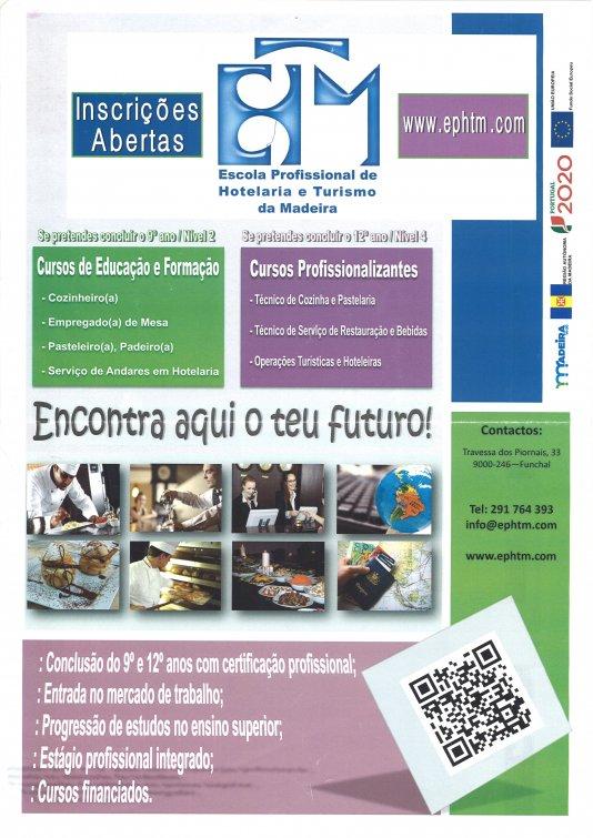 Cursos de Educação e Formação/Cursos Profissionalizantes da Escola Profissional