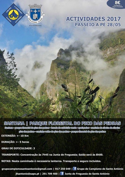 SANTANA - PARQUE FLORESTAL DO PICO DAS PEDRAS