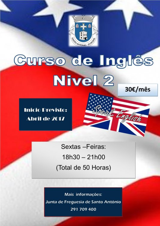 Formação de Inglês, Nivel 2