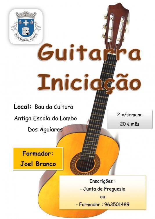 Iniciação à Guitarra
