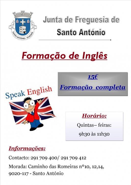 Estão abertas novas inscrições para o Curso Básico de Inglês em horário diurno.