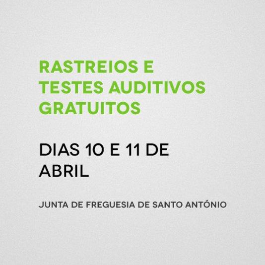 Rastreio e testes auditivos - Junta de Freguesia de Santo António