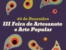III Feira de Artesanato e Arte Popular