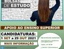 CANDIDATURA PARA APOIO AO ALUNO DO ENSINO SUPERIOR